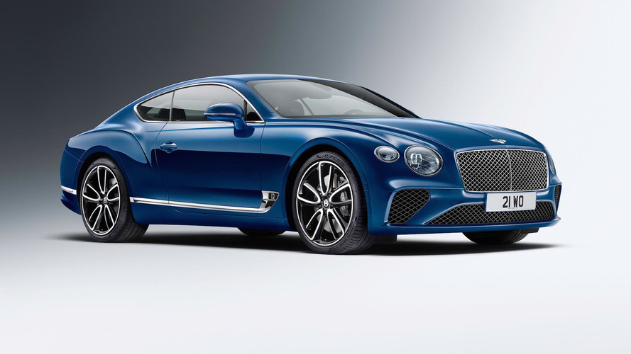 Bentley Continental GT Comes With Bangin' Stereo
