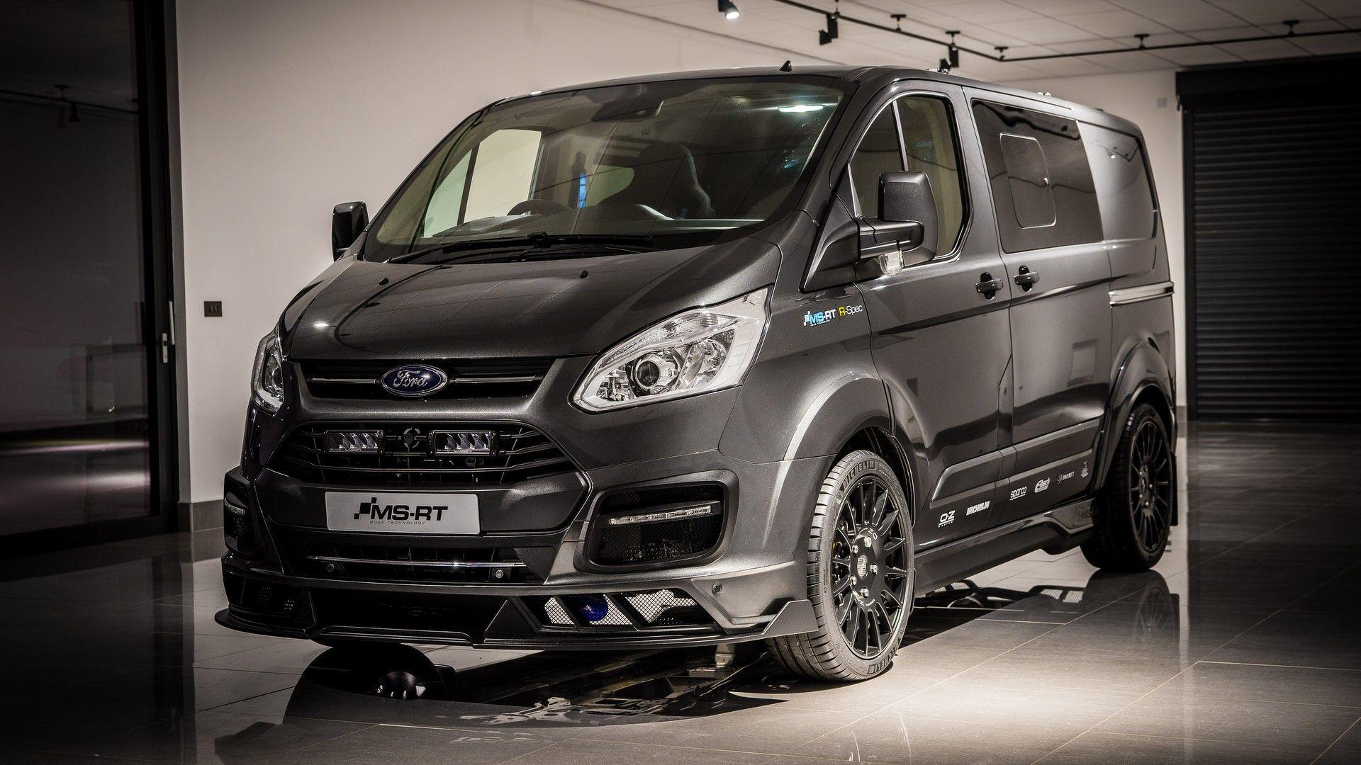 Limited-Edition Ford Transit Is A Racy Van With Bucket Seats