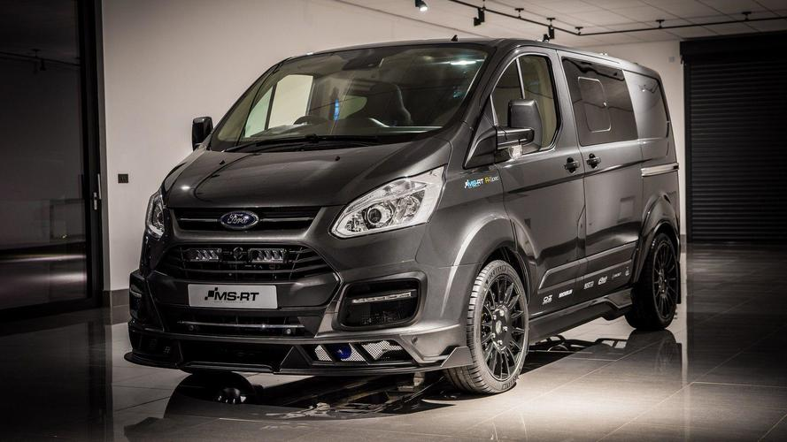 Limited-edition Transit is a racy van with bucket seats