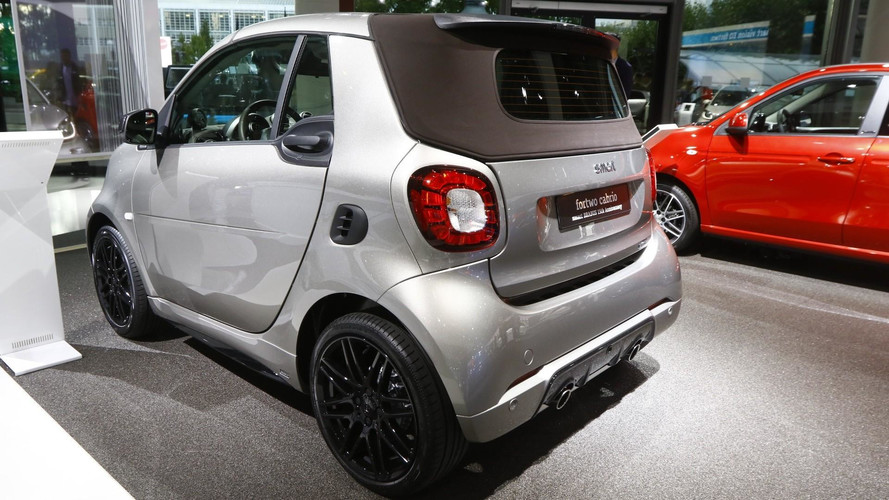 Smart ForTwo Brabus 15th anniversary edition live in Frankfurt