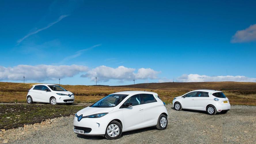 La Renault Zoé, voiture électrique d'occasion la plus vendue