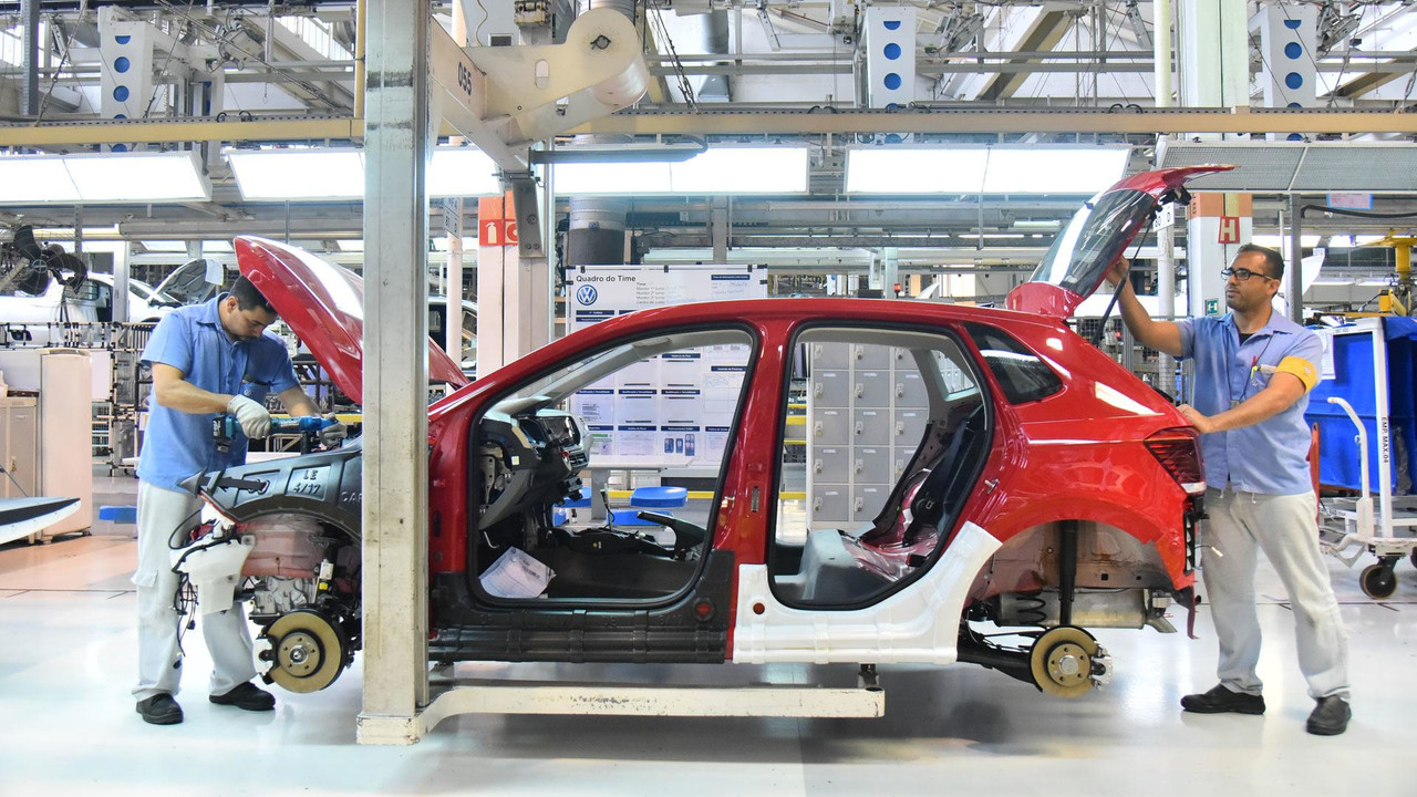 VW Novo Polo - Produção São Bernardo do Campo (SP)