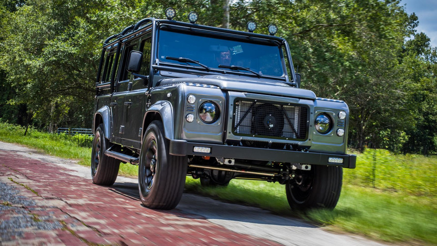 Land Rover Defender Project Kingsman Gets 320-HP Chevy V8 Engine