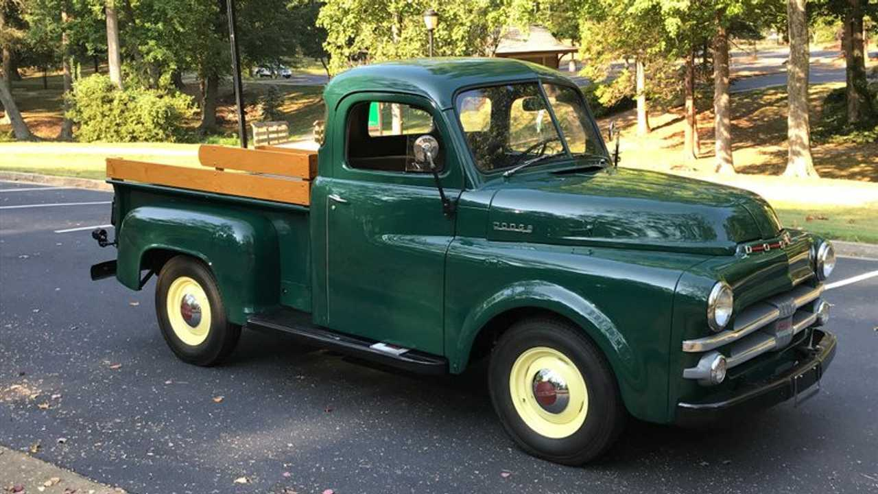 Bid On This Restored 1953 Dodge B-Series Pickup