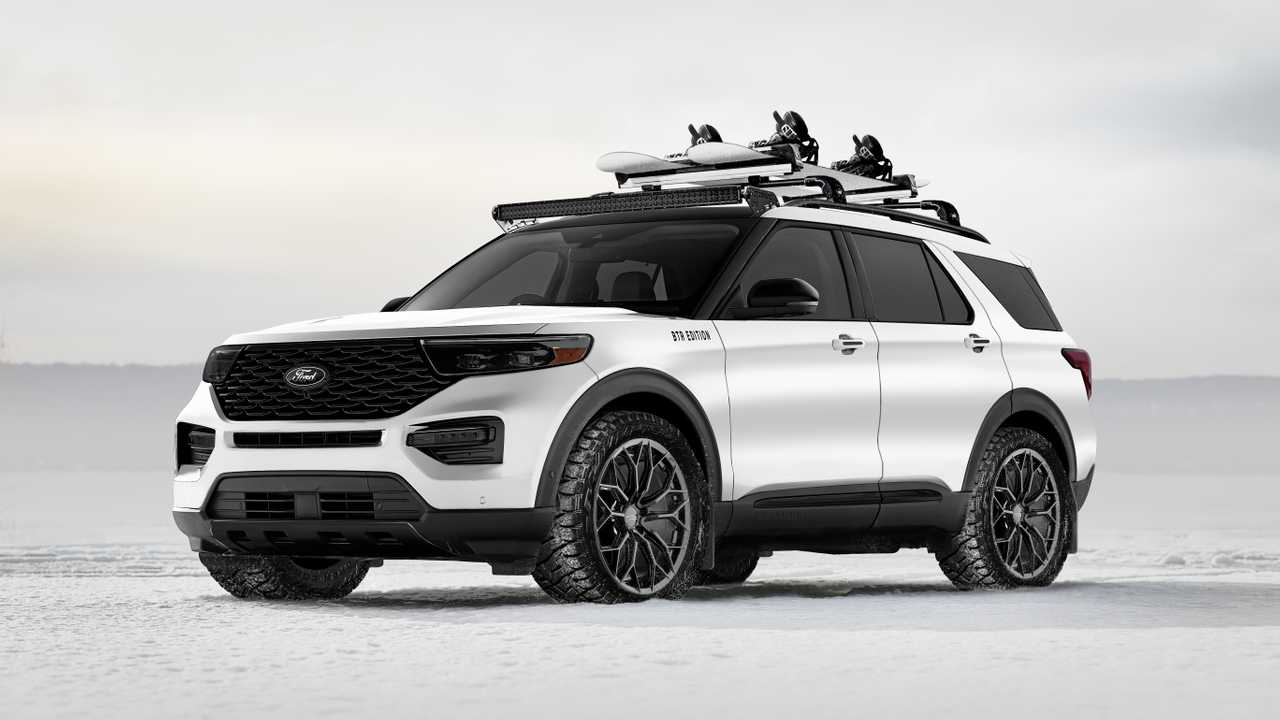 Ford SUVs At SEMA 2019