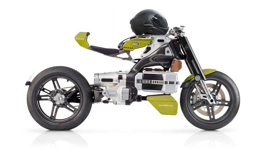 BST Hypertek Electric Bike Design Proves It Was Aliens All Along