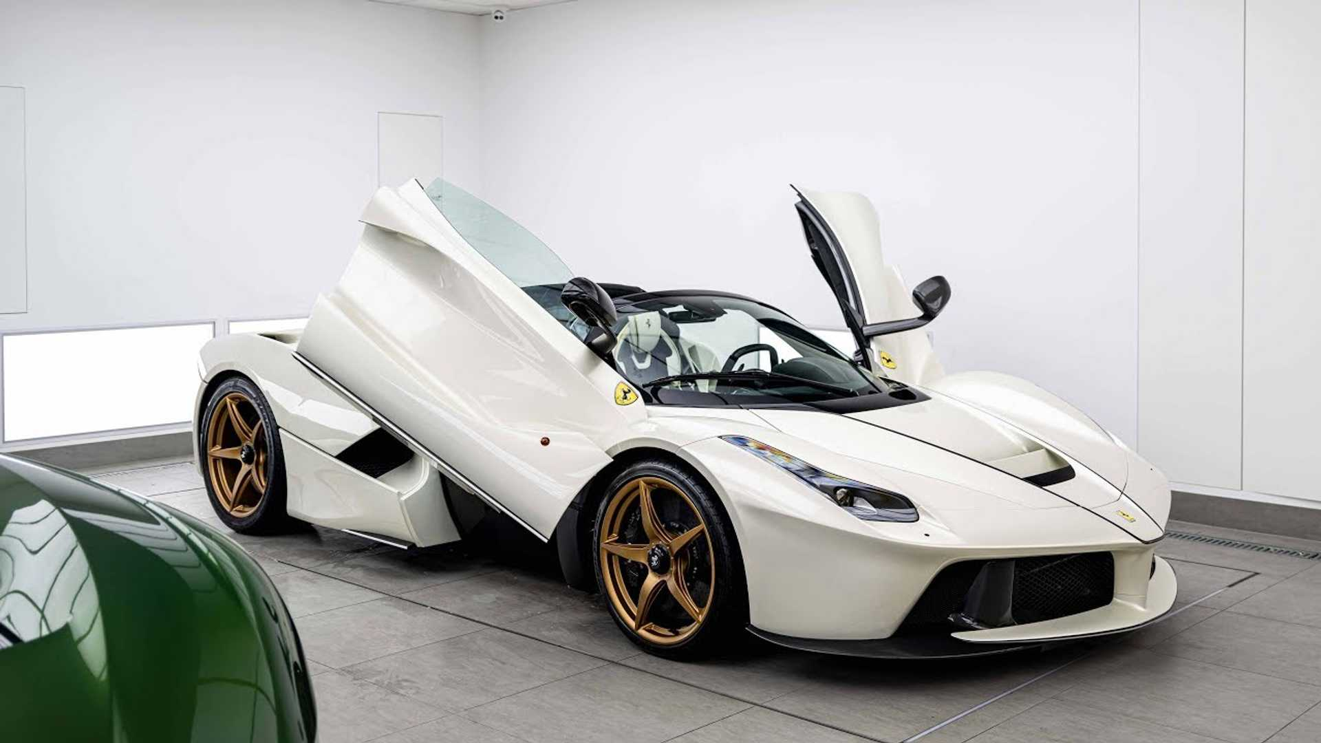 Watching LaFerrari Aperta Get Paint Protection Is A Zen Experience
