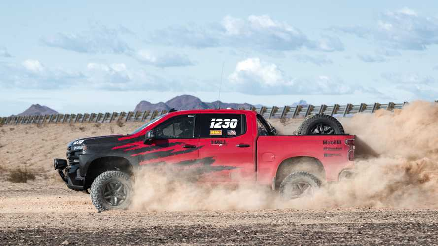 Chevrolet Silverado LT Trail Boss para carreras todoterreno