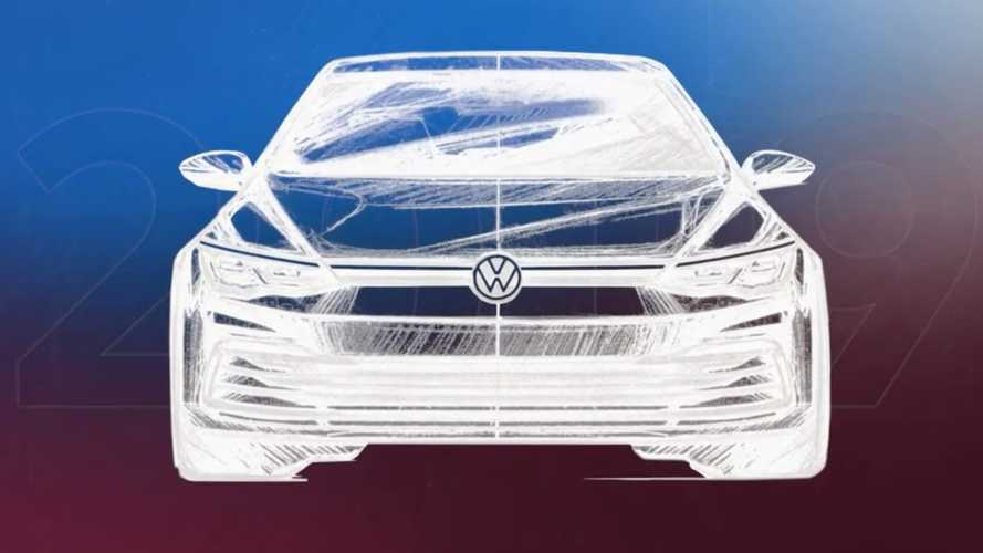 VW Golf front end design evolution shown as Mk8 draws closer