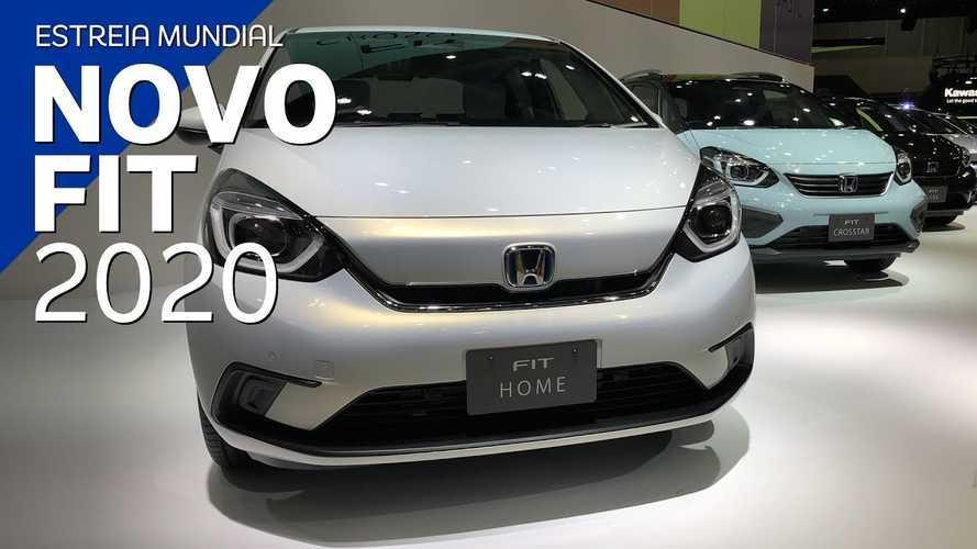 Vídeo: Novo Honda Fit 2020 em detalhes