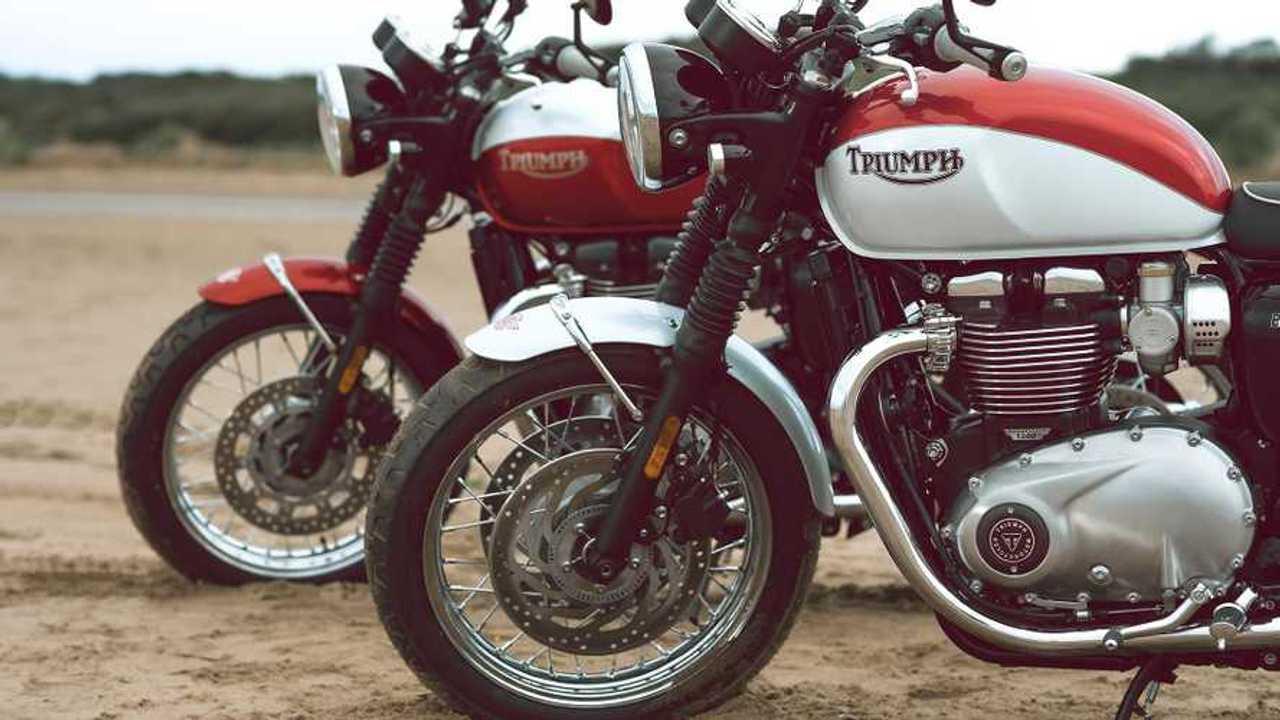 2020 Triumph Bonneville T100 And T120 Bud Ekins