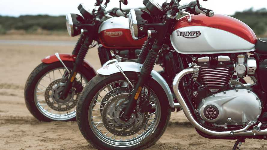 2020 Triumph Bonneville T100 And T120 Bud Ekins