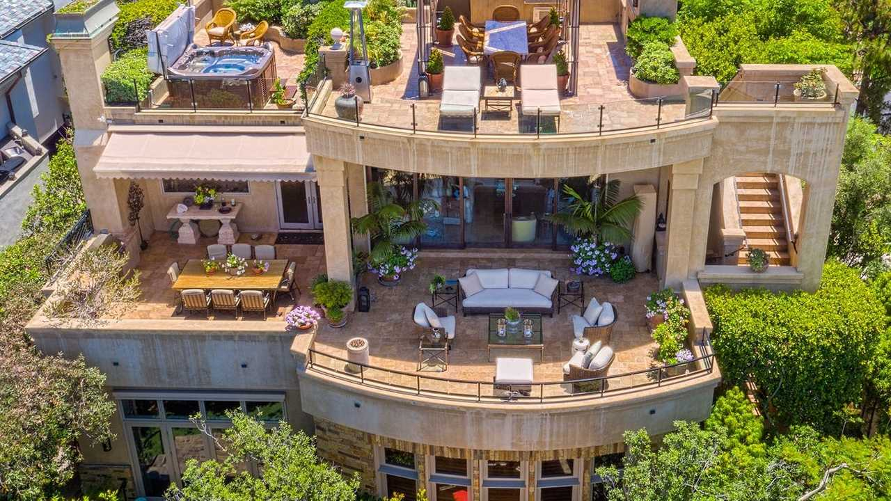 Own This Laguna Beach Mansion With 11-Car Garage