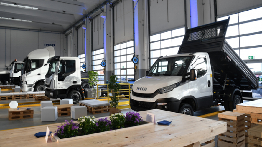 Iveco, nasce Truck Station