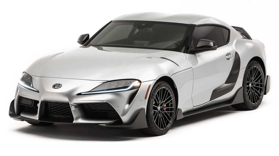 Toyota Supra Performance Line Concept Arrives At SEMA With Aero Kit
