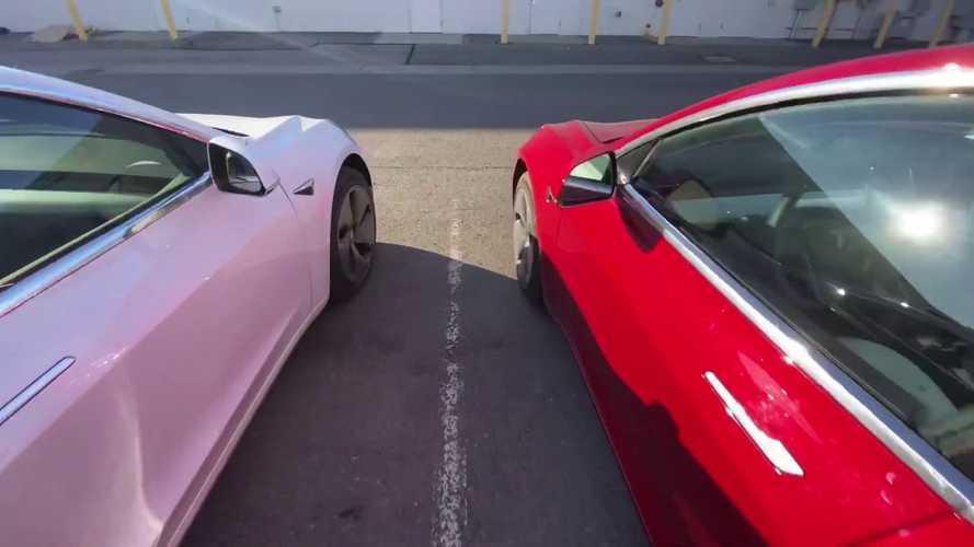 Tesla Model 3 Long Range AWD Race: Recent Upgrade Vs Previous Software
