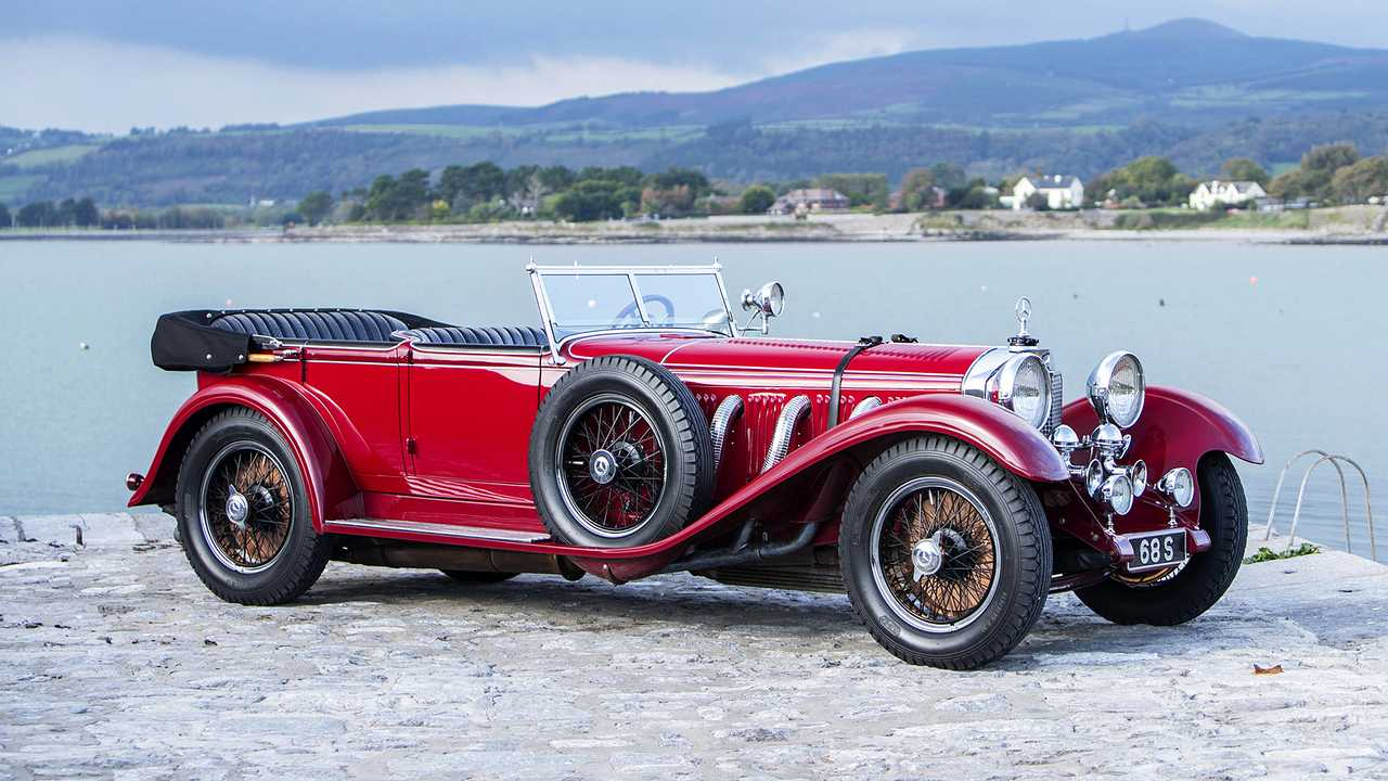 Mercedes Typ S 26/120/180-Supercharged Sports Tourer (1928) - 4,4 millions d'euros