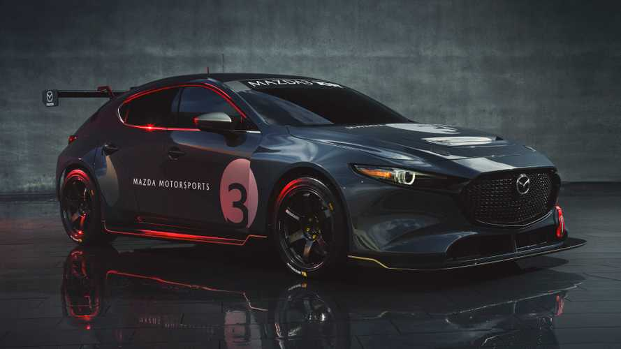 Mazda3 TCR race car debuts with 350 bhp