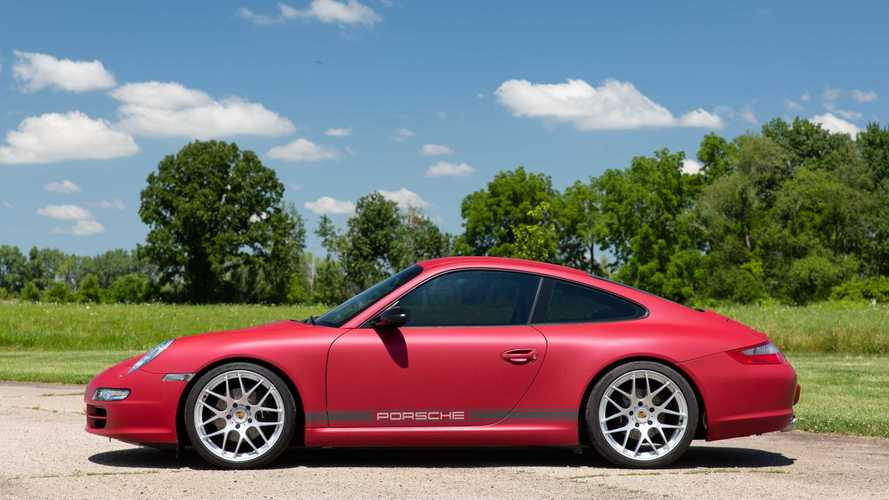 Steal The Show In This Gorgeous 2005 Porsche 911 Carrera