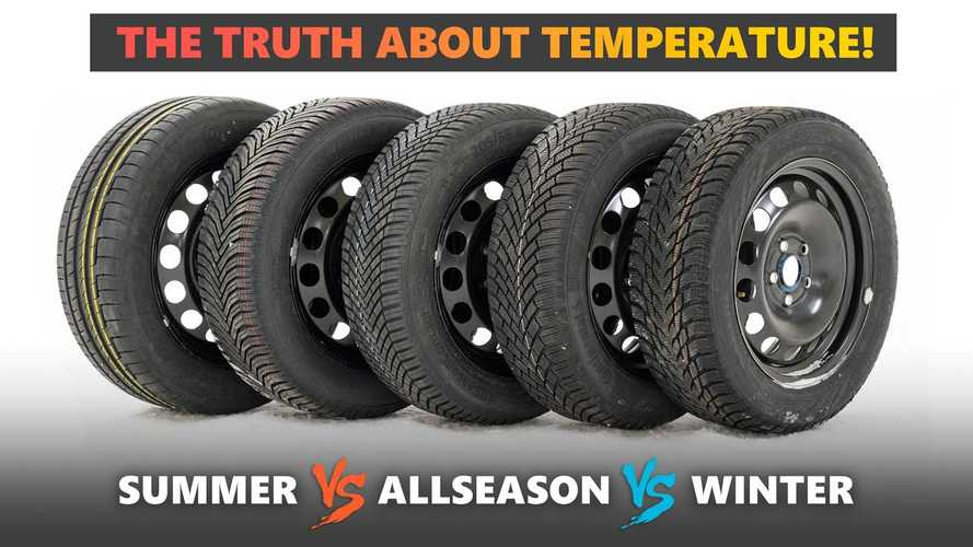 Summer, Winter, All-Season Tires Tested At Various Temperatures