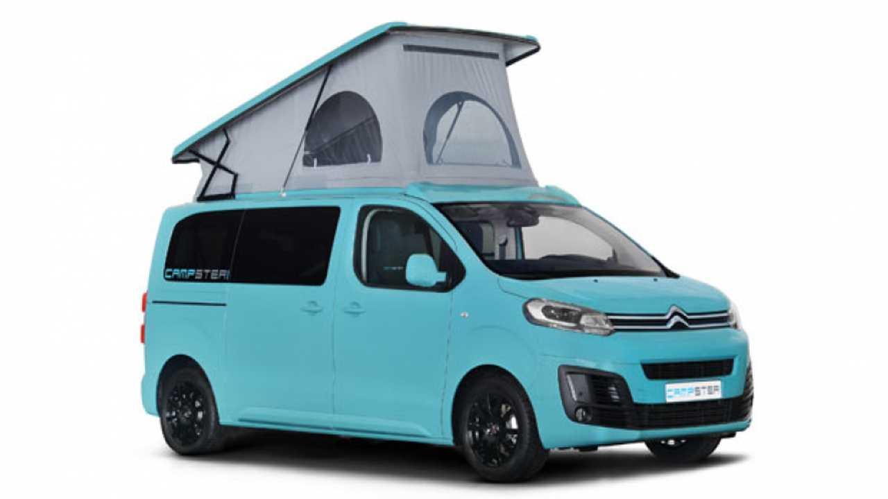 Citroën SpaceTourer diventa campervan