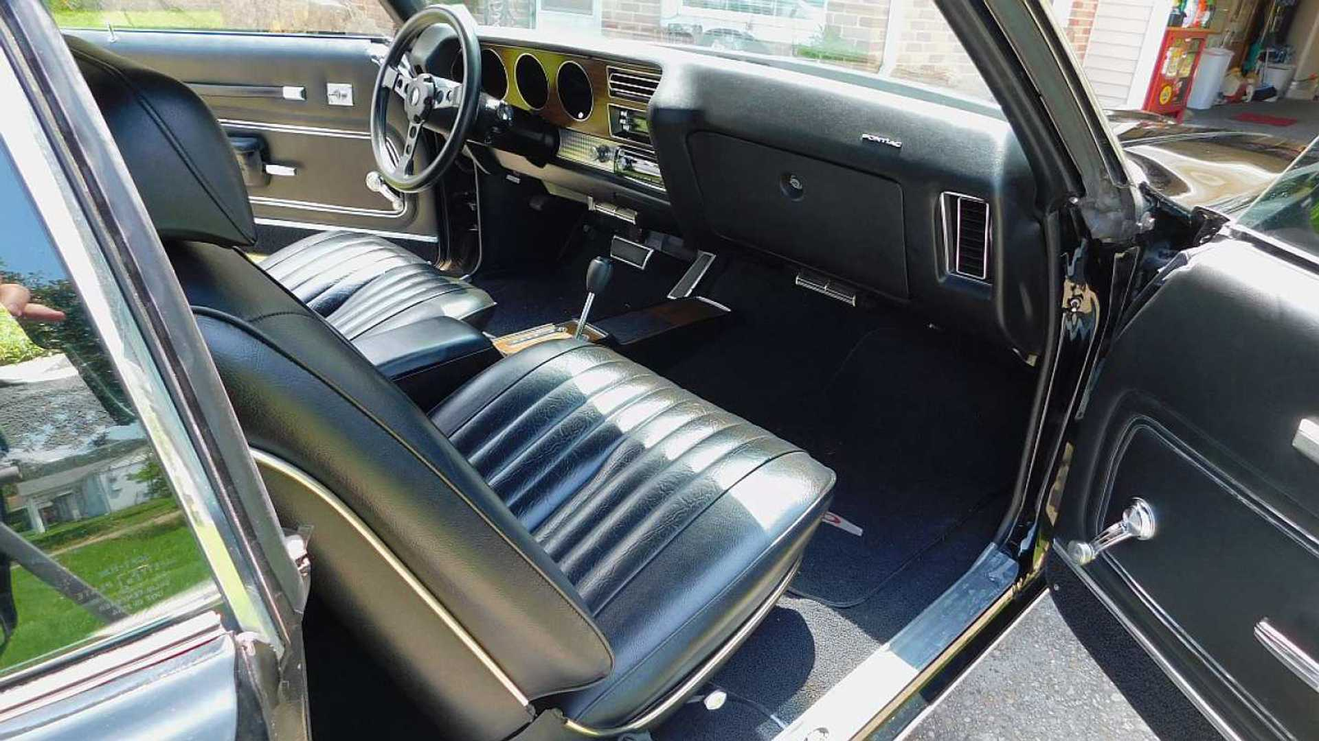 "[""Bid On This Excellent Garage-Kept 1972 Pontiac GTO""]"