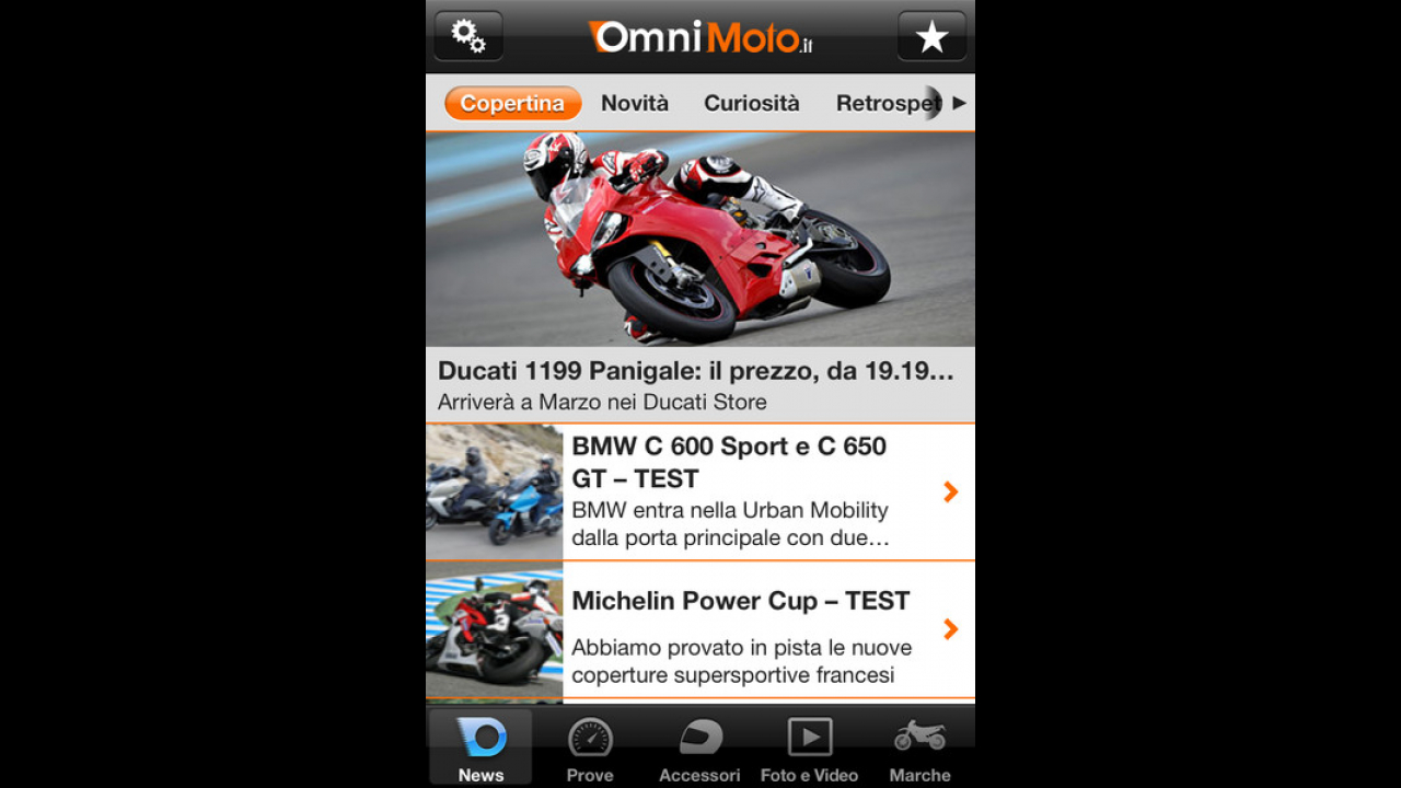 App OmniMoto.it