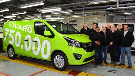 Opel festeggia il Vivaro 750.000