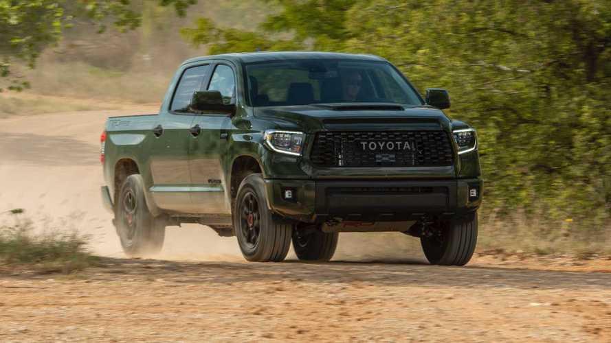 Toyota Tundra TRD Pro 2020 - Comparação