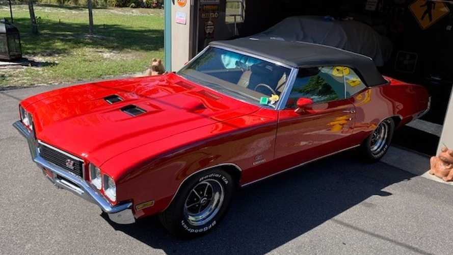 Scoop Up This Super Rare 1972 Buick GS Stage 1 Convertible