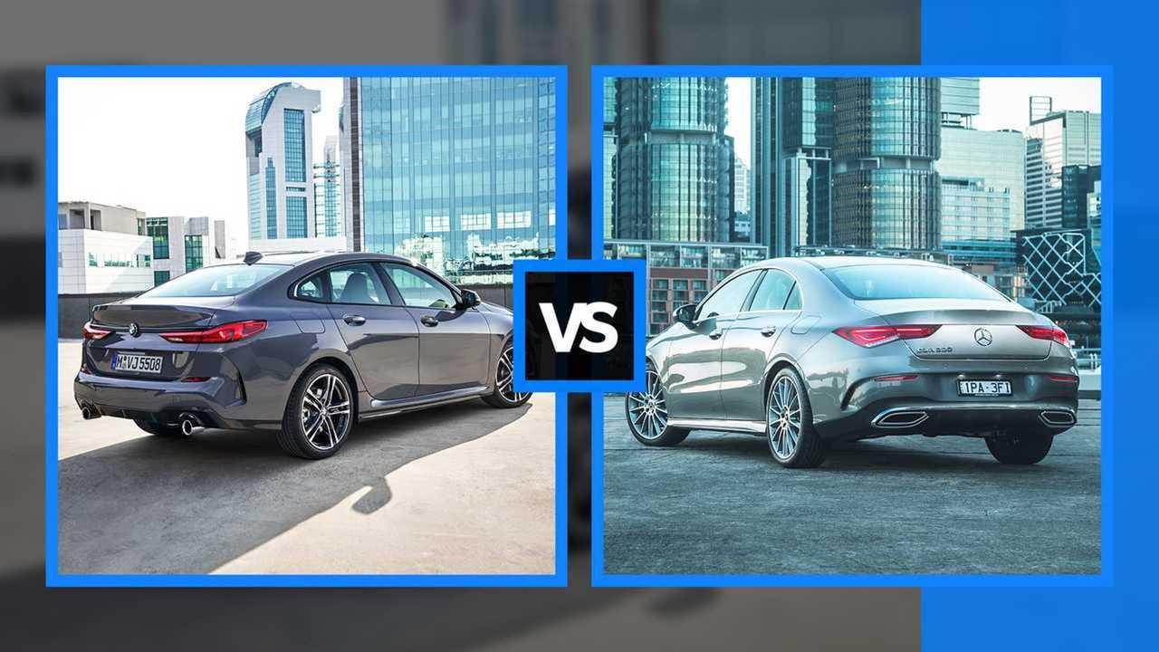 BMW 2er Gran Coupé gegen Mercedes CLA (Collage)