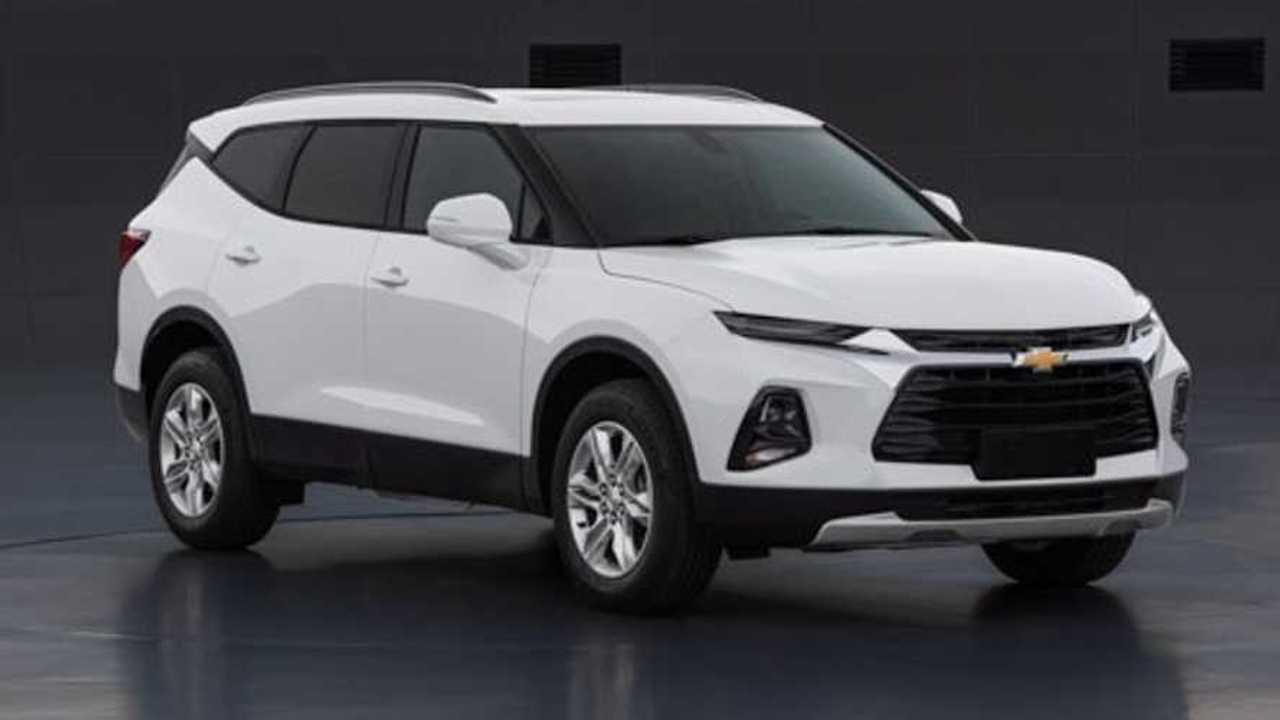 Visual do novo Chevrolet Blazer XL 2020