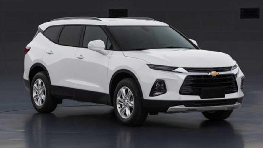 Cotado para o Brasil, novo Chevrolet Blazer XL aparece antes da hora