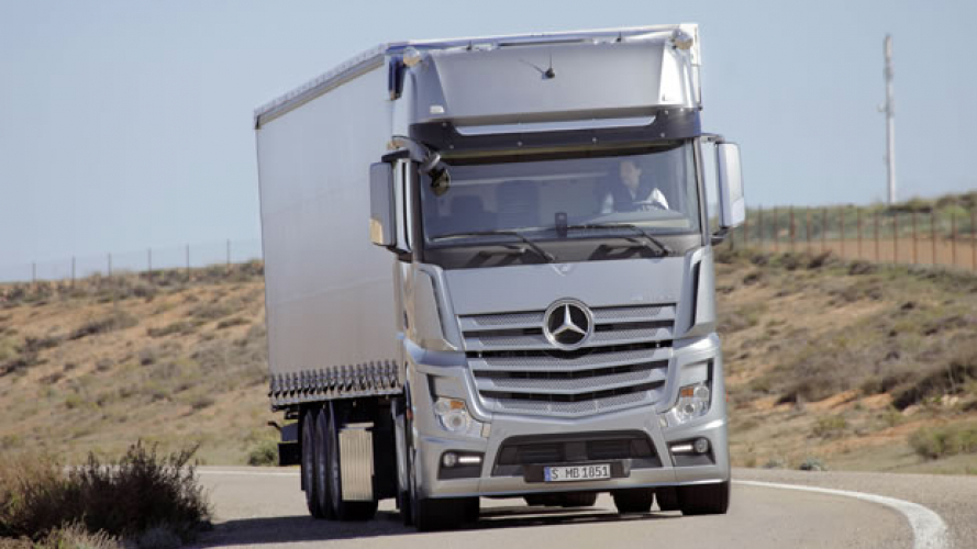 Mercedes-Benz, il Nuovo Actros