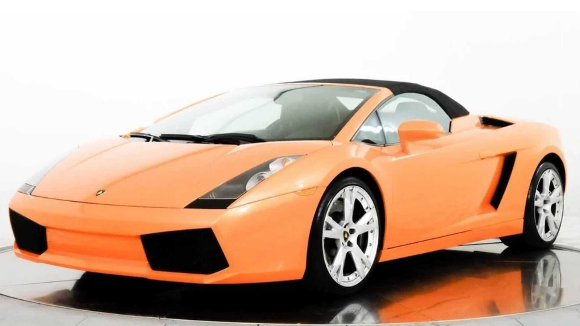 "[""Roll Hard In A 2008 Lamborghini Gallardo Spyder""]"