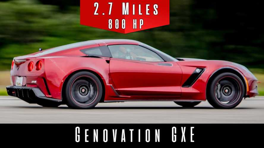 Electric Chevy Corvette Hits 210 MPH In Top Speed Run