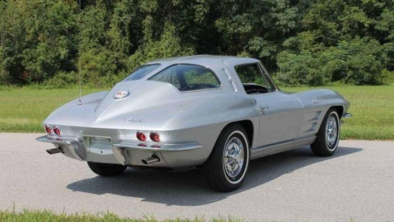 Restored, Numbers-Matching Split-Window Corvette Up For Grabs