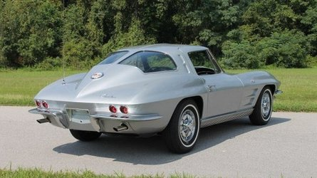 Restored numbers matching split window corvette up for grabs
