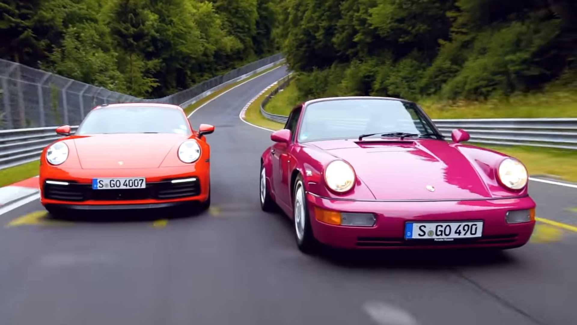New Vs Old 911 On The 'Ring Shows How Fast The 992 Really Is