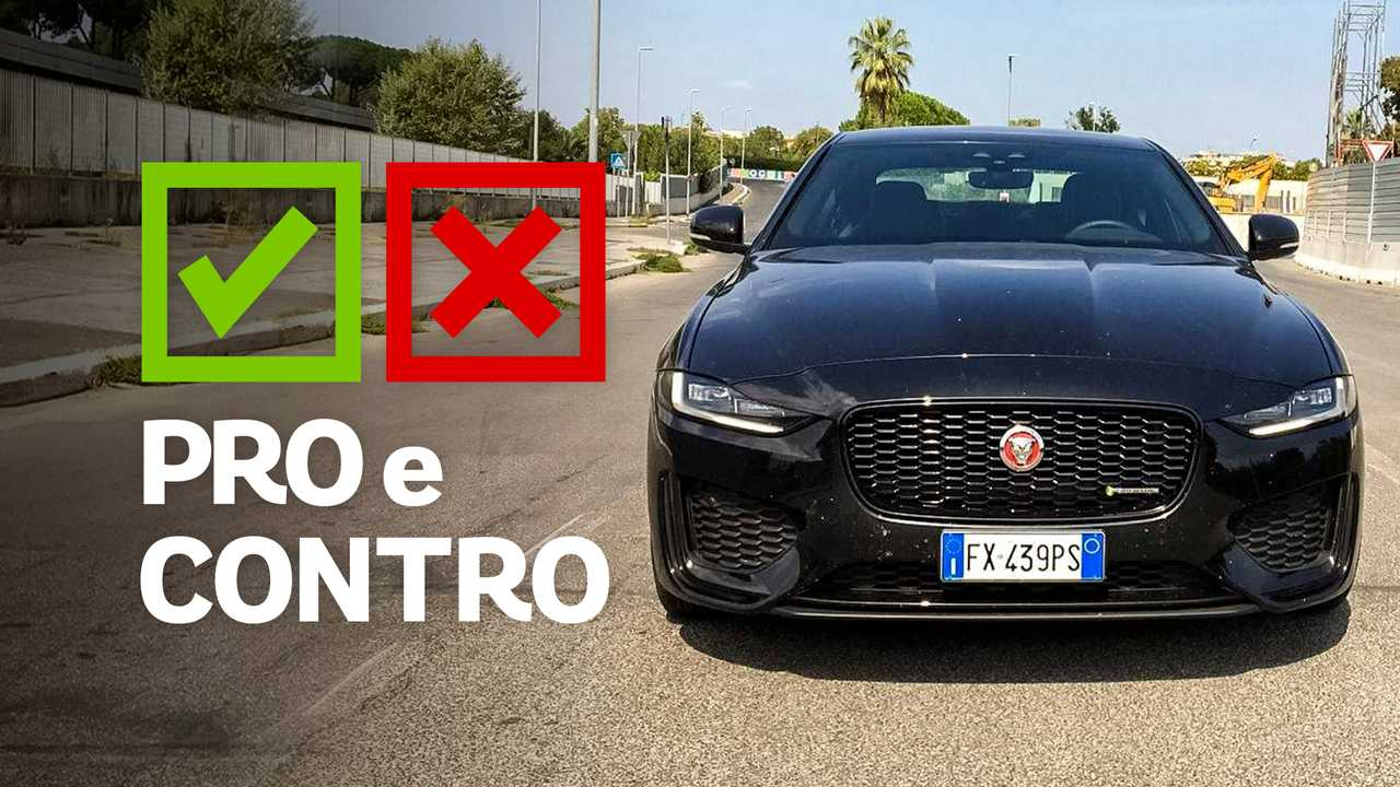 Pro e Contro Jaguar XE