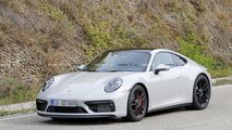 2021 Porsche 911 GTS Cabrio and Coupe spy photos
