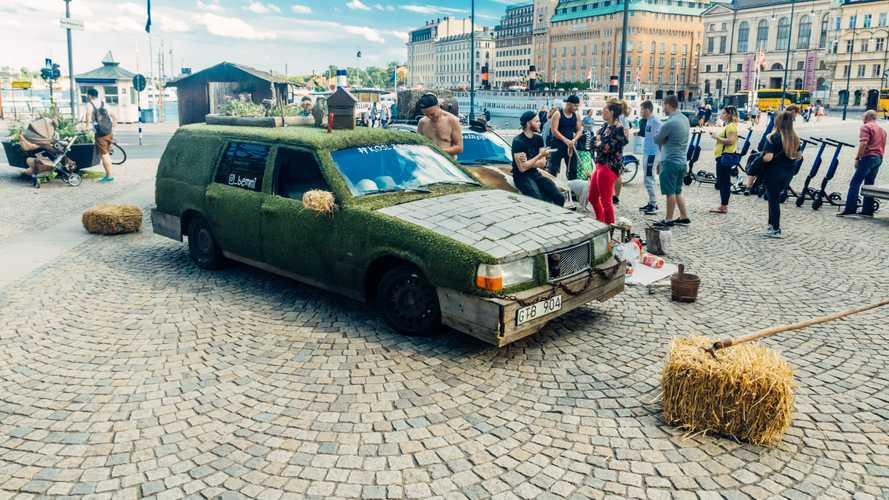 «Корова» и «Сарай»: два самых необычных Volvo в Стокгольме