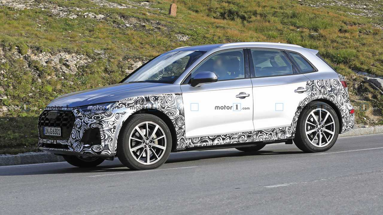 2021 audi q5 facelift spy photo  motor1 photos