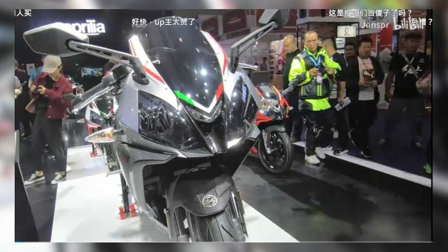 Is Aprilia Finally Bringing The RS 150 To India's Auto Expo 2020?
