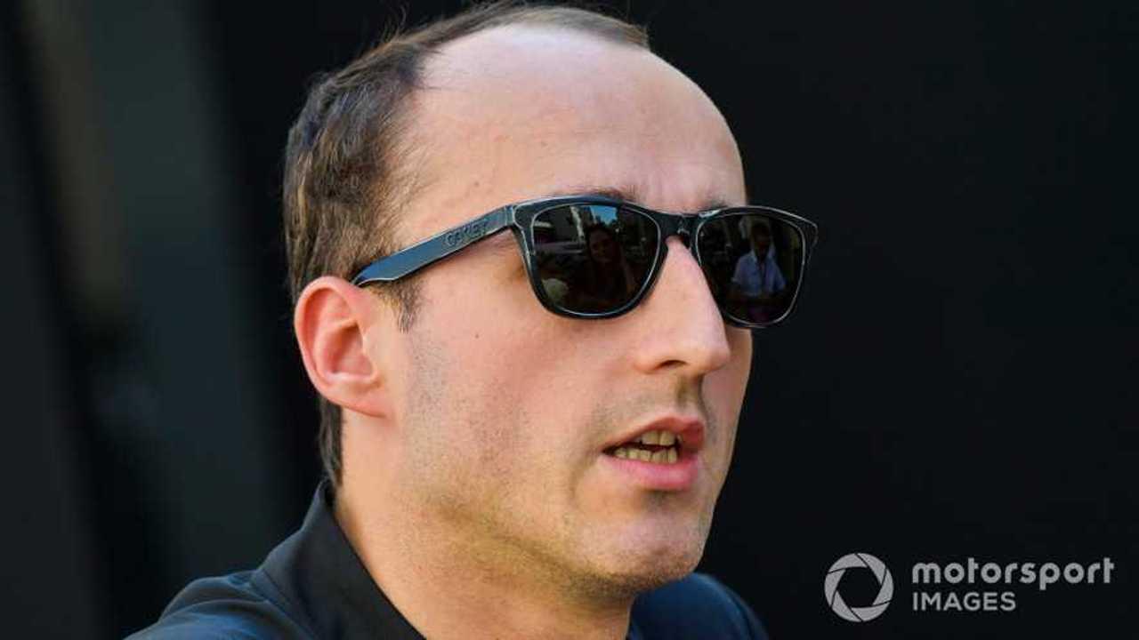 Robert Kubica at Abu Dhabi GP 2019