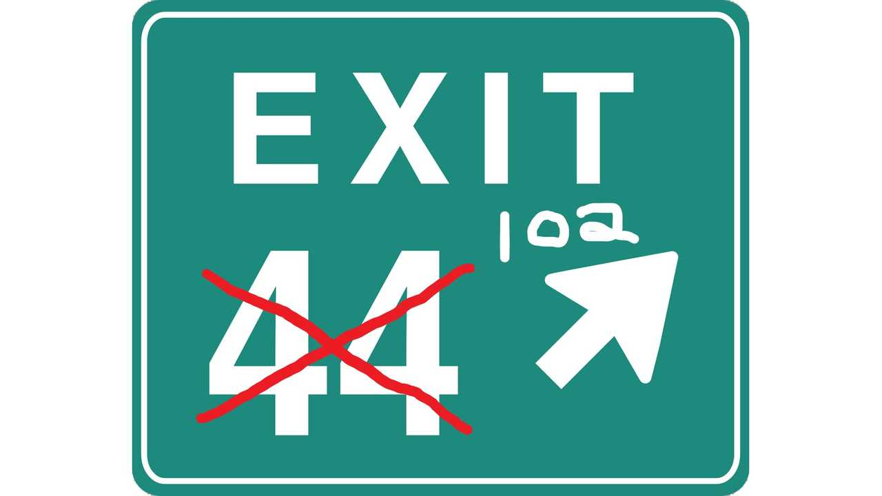 Modified Exit Sign