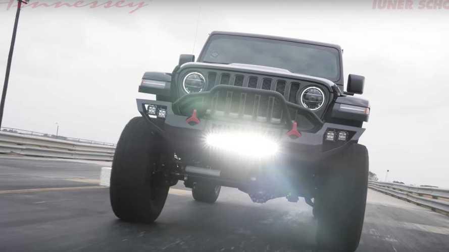 1.000 beygirlik Jeep Gladiator Maximus'u hareket halinde görün