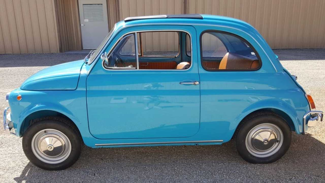 Bask In The Playful Nature Of This 1972 Fiat 500L Coupe