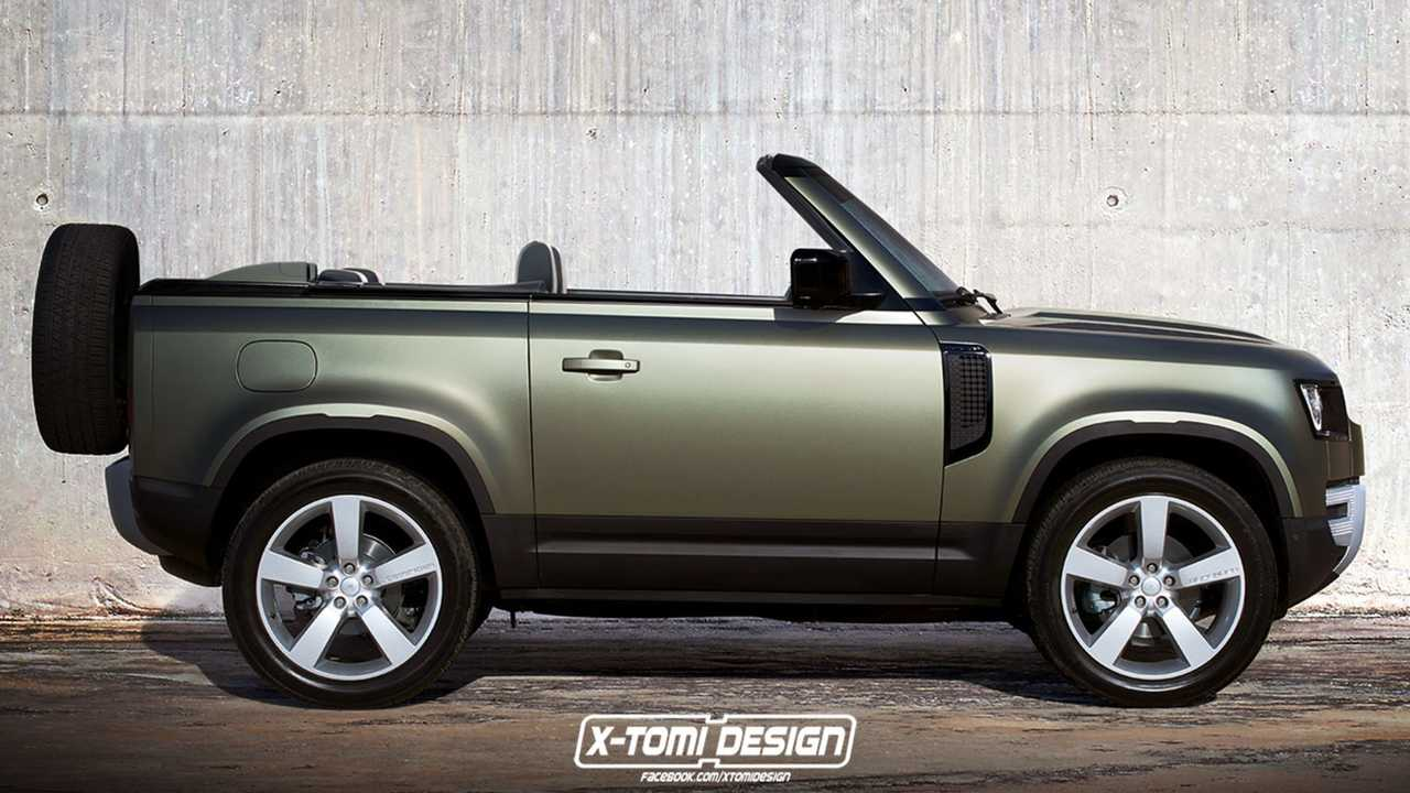Land Rover Defender 110 >> New Defender Rendered As A Commanding Convertible