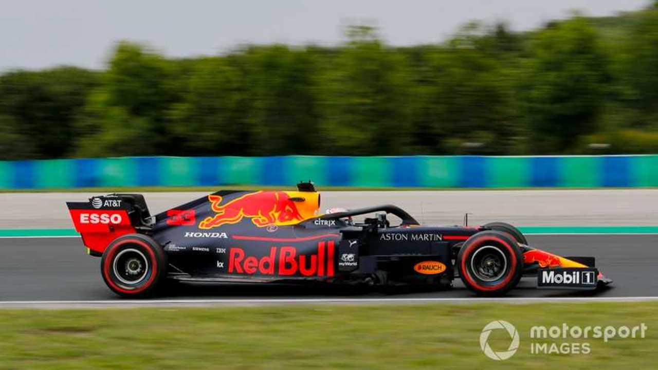 Max Verstappen at Hungarian GP 2019
